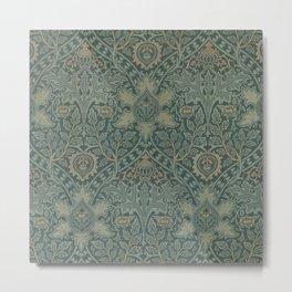 Ispahan by William Morris 1888 Antique Vintage Pattern CC0 Spring Summer Metal Print
