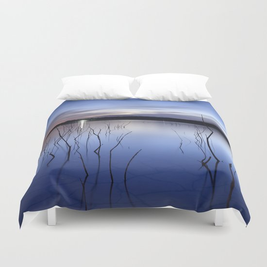 """The night light"" Duvet Cover"