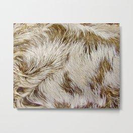 Boca Sloth coat  Metal Print
