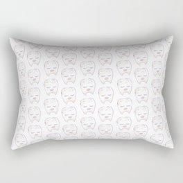 aesthetic teeth Rectangular Pillow