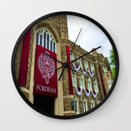 Keating Hall at Fordham University Commencement  Wall Clock