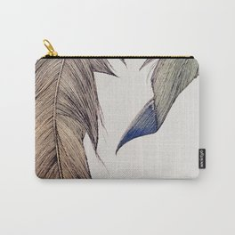 """""""Your wings already exist. All you have to do is fly."""" Carry-All Pouch"""