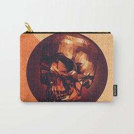 Low Poly Skull Carry-All Pouch
