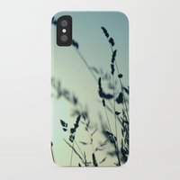 grass iPhone & iPod Cases featuring grass by Ingrid Beddoes