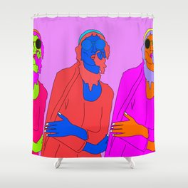 life's a party Shower Curtain