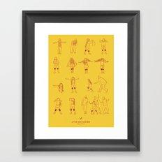 Super Freak Framed Art Print