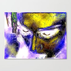 Power in a Face Canvas Print