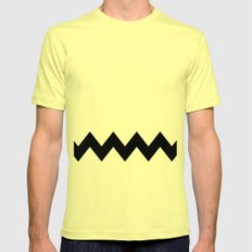 Good Grief Mens Fitted Tee SMALL Lemon