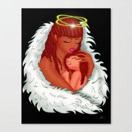 Angel's Love Canvas Print