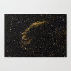 Veil Nebula 2 Canvas Print
