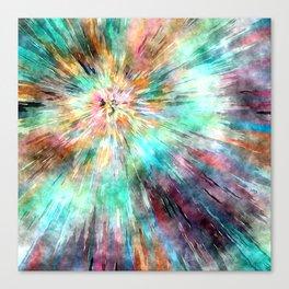 Colorful Tie Dye Canvas Print