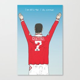 I am Cantona Canvas Print