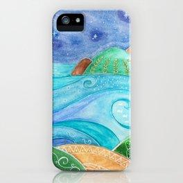 Sea of Sicily iPhone Case