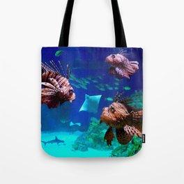 Lionfish no 2 - Dragonfish Tote Bag