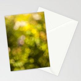 Beautiful bokeh Stationery Cards