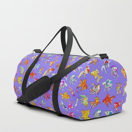 Aquarium Ultraviolet Duffle Bag