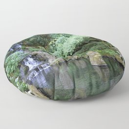 Japanese Garden Calmness Floor Pillow