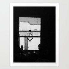 Kitchen Window East Hollywood Art Print