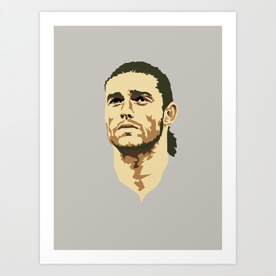 Andy Carroll Art Print