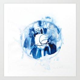 Sea & Me 23 Art Print