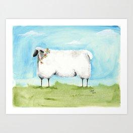 sheepish art prints society6