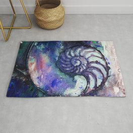 Nature Music No.1E by Kathy Morton Stanion Rug