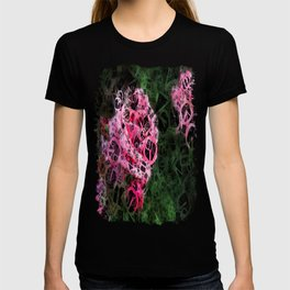 Pink Roses in Anzures 1 Letters 4 T-shirt