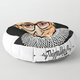 The Unstoppable Ruth Bader Ginsburg Floor Pillow