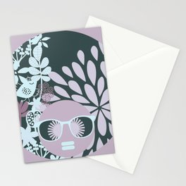 Afro Diva : Sophisticated Lady Pastel Stationery Cards