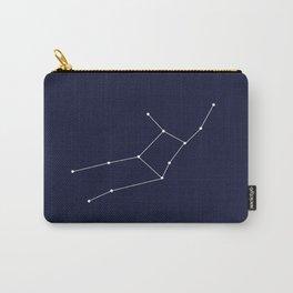Virgo Star Sign Deep Blue Carry-All Pouch