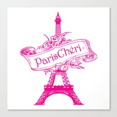ParisChéri Canvas Print