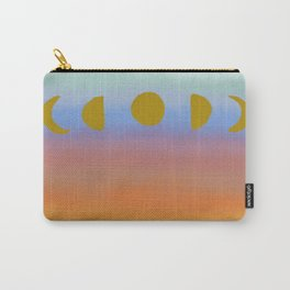 Sunset Moonrise Carry-All Pouch