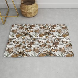 Traml™ Camouflage Whiteout Rug