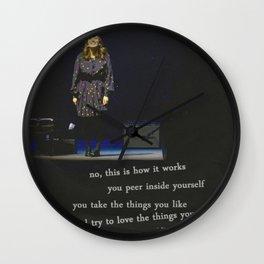 regina spektor live in toronto - on the radio Wall Clock