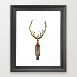 Reindeer games Framed Art Print