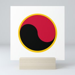 Angola country roundel Mini Art Print