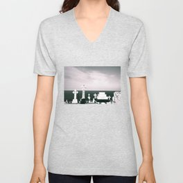 A place to rest by the ocean Unisex V-Neck