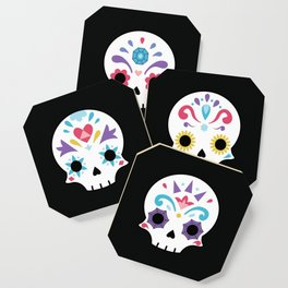 Cute sugar skulls B Coaster