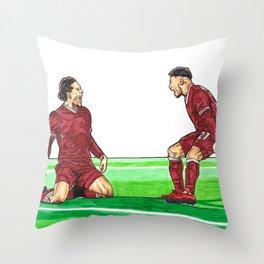 Cup Winner Throw Pillow