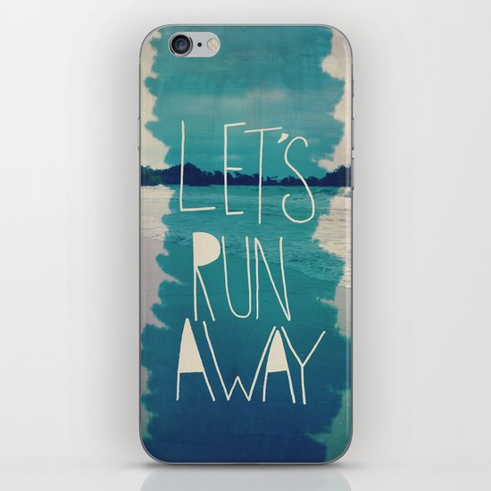 Let's Run Away: Manuel Antonio, Costa Rica iPhone & iPod Skin