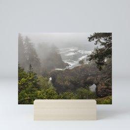 Fog Over Natural Bridges Mini Art Print