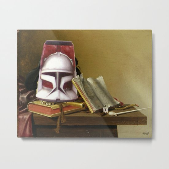 Harmen Steenwijck´s Star Wars Collage ? Metal Print