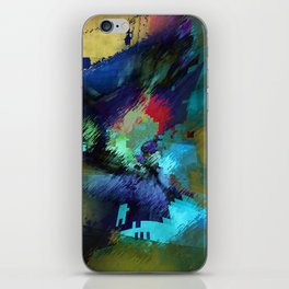 at that time iPhone Skin