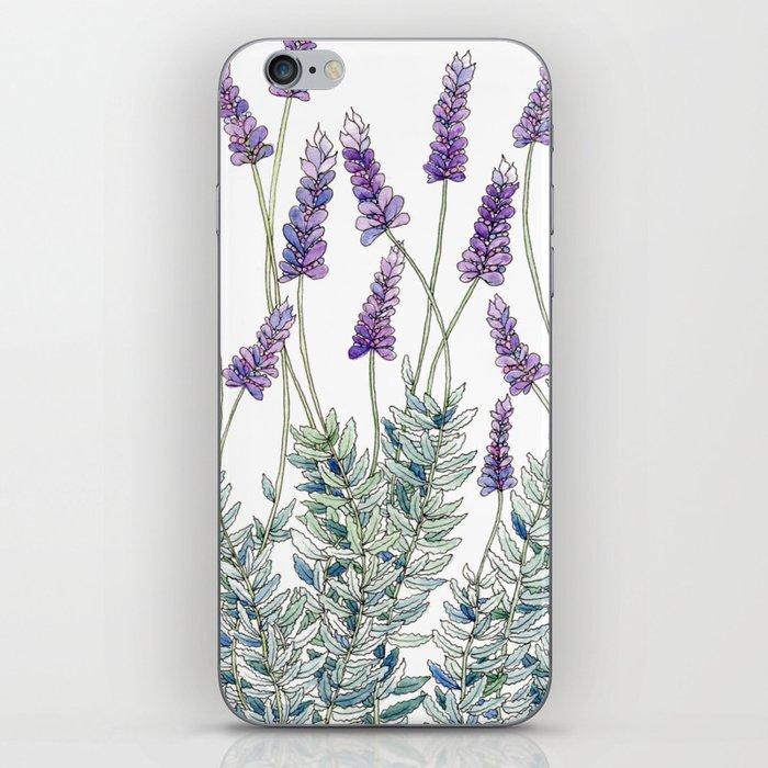 Lavender, Illustration iPhone Skin