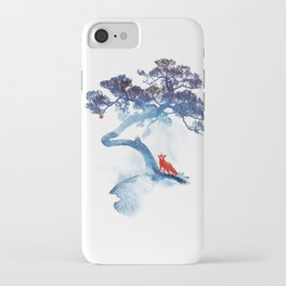 The last apple tree iPhone Case