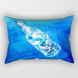 Ocean Girl J51 Rectangular Pillow