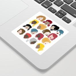 Harry the Hairdresser Sticker