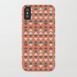 Triangles + Dots iPhone Case