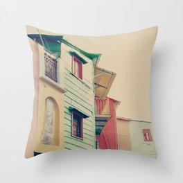 Pastel Caminito  Throw Pillow