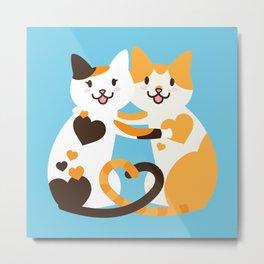 Lovecats Metal Print